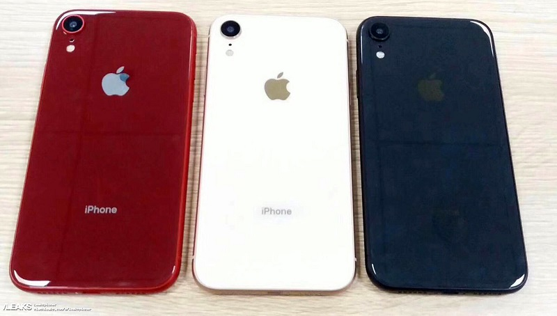 iPhone XC Color variants