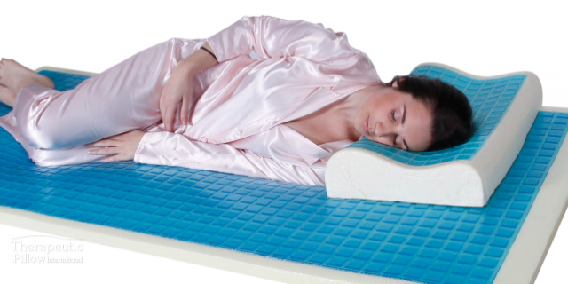 thrapeutic pillow bed