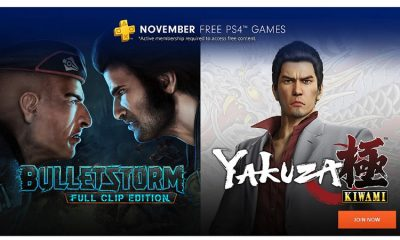 PS Plus Free Games November 2018