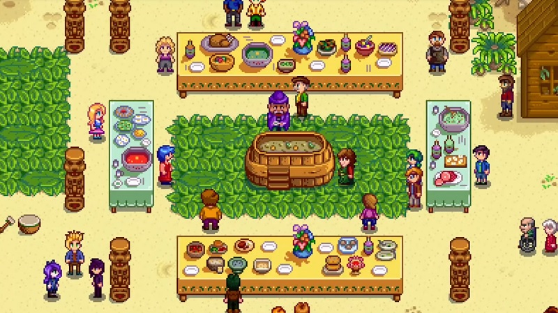 Stardew Valley festival iOS