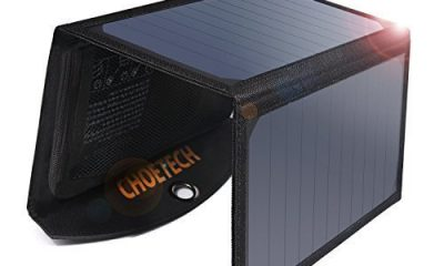 Choetech solar phone charger