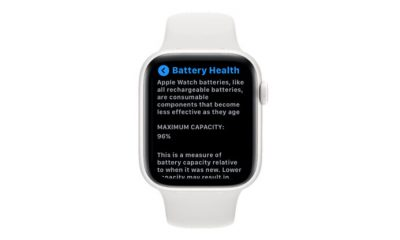 watchOS 7 battery health
